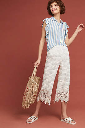 Moon River Lace Beach Pants