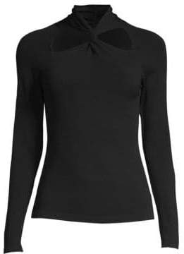 Milly Twist Neck Pullover