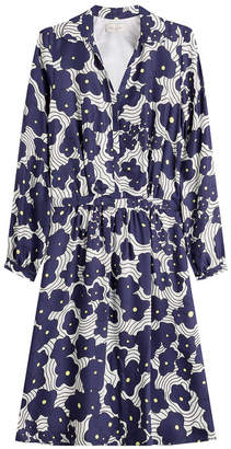 Paul & Joe Printed Dress with Silk