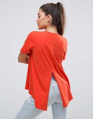 ASOS Dip Split Back T-Shirt $19 thestylecure.com