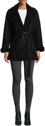 IRO Women's Lamb Shearling Coat
