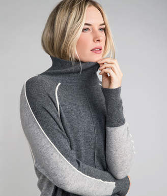 Vineyard Vines Multi Raglan Turtleneck