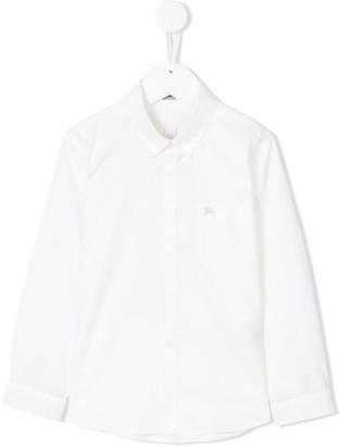Burberry Cotton Button-down Collar Shirt