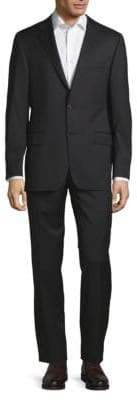 Hickey Freeman Buttoned Wool Suit