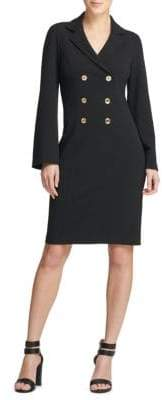 Donna Karan Double-Breasted Shirtdress
