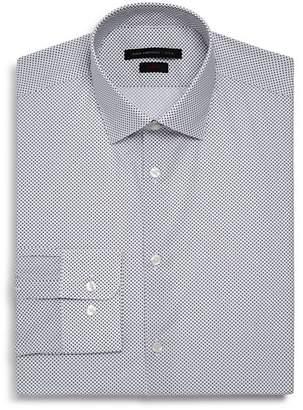 John Varvatos Micro-Diamond Slim Fit Dress Shirt