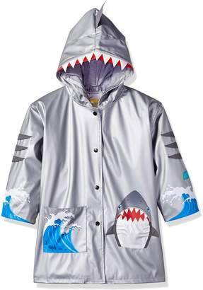 Kidorable Little Boys' Shark Pu All-Weather Raincoat