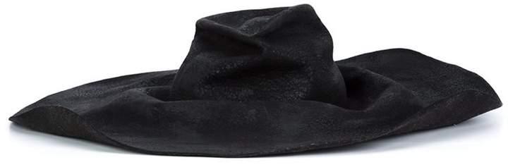 Horisaki Design & Handel 'Hard' burnt fur hat