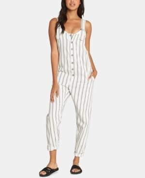 Billabong Juniors' Sun Seeker Cotton Striped Overalls