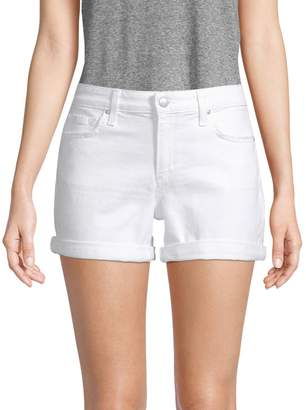 Joe's Jeans Rosa Rolled Hem Denim Shorts