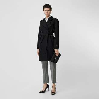 Burberry Kensington Fit Cotton Gabardine Trench Coat