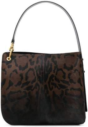 Salvatore Ferragamo animal print shoulder bag