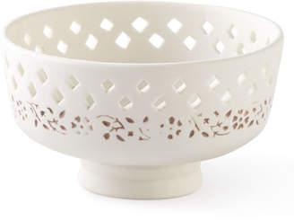 John Robshaw Lakki Porcelain Soap Dish, Taupe