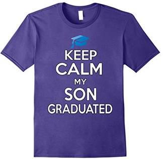 Graduation Gift T-Shirt - Keep Calm my Son Graduated