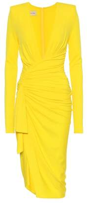 Alexandre Vauthier Long-sleeved stretch crêpe dress