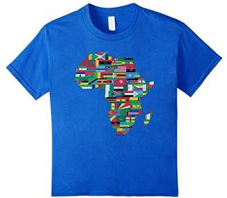 Africa Countries Flag T Shirt Continent Proud African Love