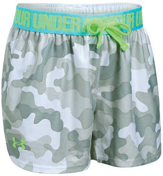 Under Armour Girls Printed Play Up Shorts