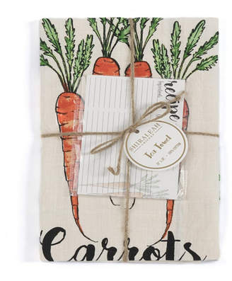 Shiraleah Carrot Tea Towel Set