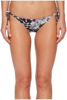 THE BIKINI LAB What's My Sage Again String Tie Side Bikini Bottom Women's Swimwear