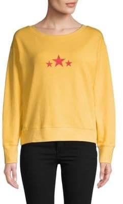 Sweet Romeo Star Graphic Cropped Sweatshirt