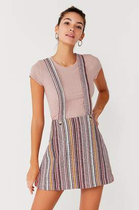 Urban Outfitters Bellamy Striped Skirtall Overall
