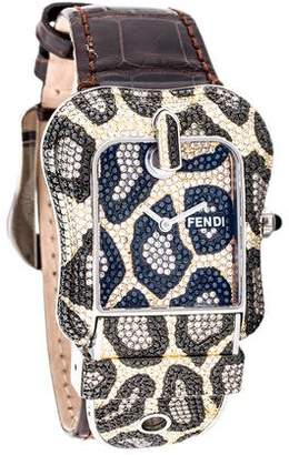 Fendi B. Pavé Watch