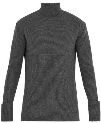 Wooyoungmi Roll-neck wool-blend sweater