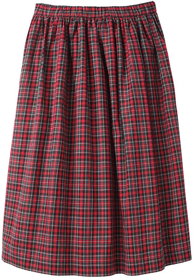 Comme Des Garçons Shirt / Tartan Skirt