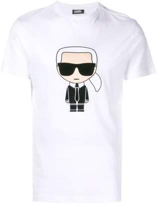 Karl Lagerfeld Paris Ikokik embroidered T-shirt