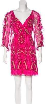 Tibi Silk Mini Dress
