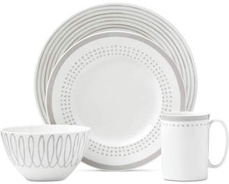 Kate Spade Charlotte Street Grey East Dinnerware Collection