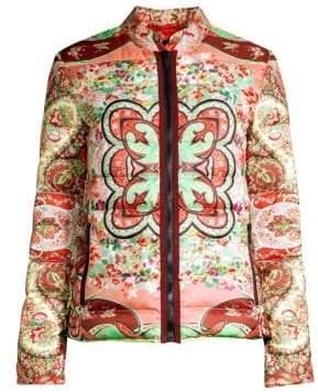 Etro Foulard Puffer Jacket