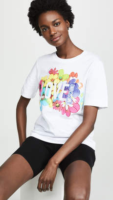 Moschino Love Floral Tee