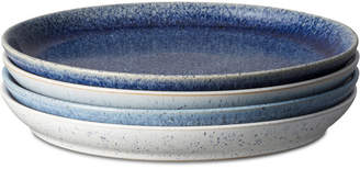 Denby Studio Craft Blue 4-Pc. Coupe Dinner Plate Set