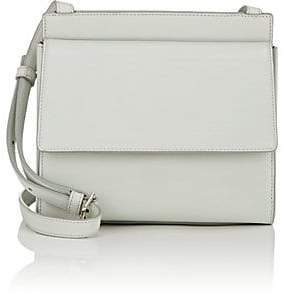 Calvin Klein Women's Foldover Leather Crossbody Bag - Blue