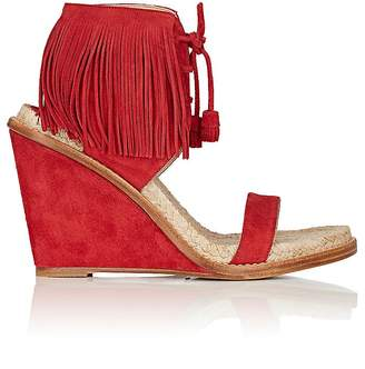 Paul Andrew WOMEN'S SHANTOU SUEDE WEDGE SANDALS