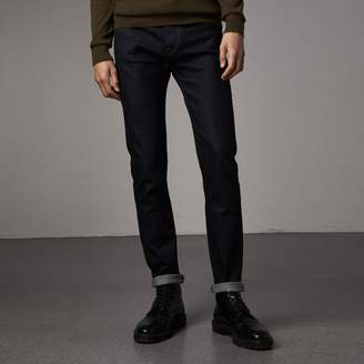 Burberry Slim Fit Stretch Japanese Selvedge Denim Jeans