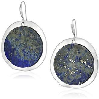 Robert Lee Morris Color Wheel Silver with Drop Earrings