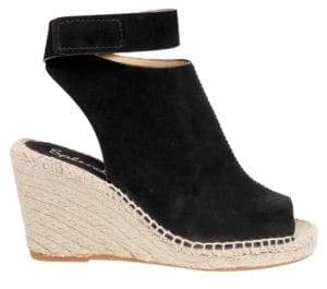 Splendid Jeren Leather Wedge Sandals