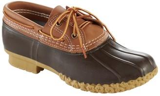 L.L. Bean Women's L.L.Bean Boots, Two-Eye Boat Gumshoes, Leather