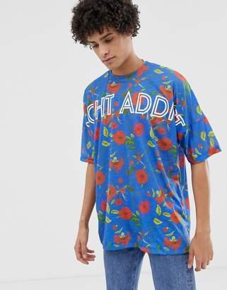 Night Addict Oversized Printed T-Shirt