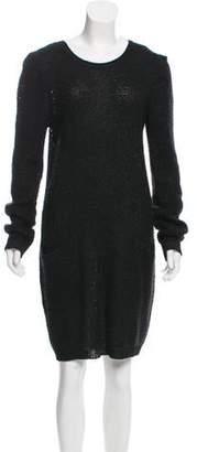 See by Chloe Open-Knit Sweater Dress
