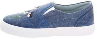 Chiara Ferragni Fiori Slip-On Sneakers w/ Tags