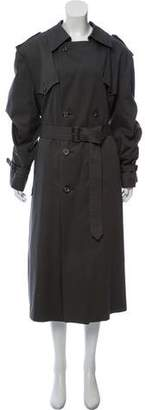 Christian Dior Wool-Lined Trench Coat
