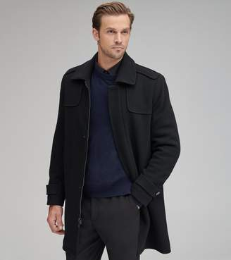 Andrew Marc EDMUND WOOL TOP COAT