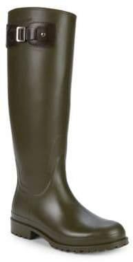 Saint Laurent Round-Toe Rain Boots