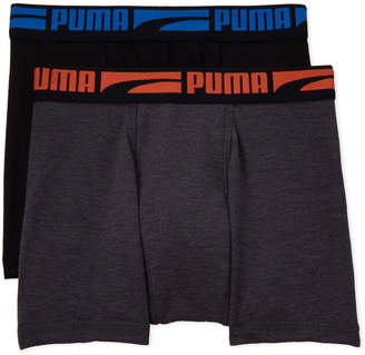 Puma Boys 8-20) Two-Pack Stretch Boxer Brief