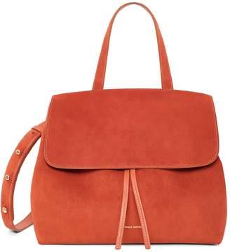 Mansur Gavriel Suede Lady Bag - Brick