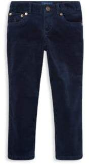 Ralph Lauren Little Girl's& Girl's Stretch Corduroy Pants