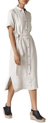 Whistles Bella Belted Shirt Dress